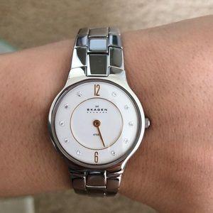 NIB Skagen Silver Watch
